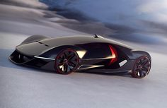 2040 Manifesto Concept Car by ISD-rubika Wins Ferrari Design Challenge Competition