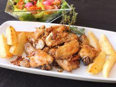 La cocina de Lola: Pollo al ajillo con patatas