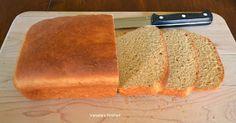 Varada's Kitchen: Whole Wheat English Muffin Loaf