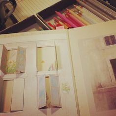 Mari Mochizuki art classes : picture diary /MOLESKINE  望月麻里 こども絵画教室giardino モレスキンを用いた交換絵日記 #望月麻里