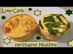 Low-Carb: Herzhafte Muffins, ganz einfach und individuell zu füllen! - YouTube