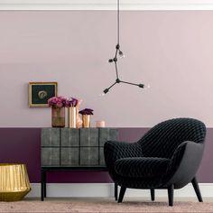 """Das seidige Altrosa der urbanen Eleganz. Die Farbe Altrosa mit der Bezeichnung """"Le Marais 4507"""" gibt es von der Firma schöner Wohnen zu kaufen. Bei uns erhalten Sie einige Accessoires in Rosa, welches Sie für Ihr Zuhause nehmen können-"""