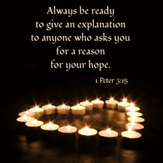 1 Peter 3:15 - Google Search