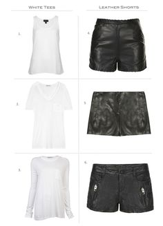 d481270c5 spring/summer Leather Shorts Outfit, Jean Shirt Dress, Cut And Style, Rocker