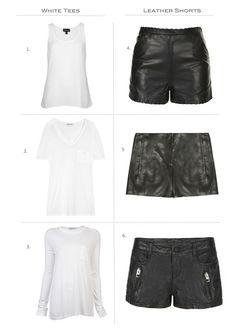 70f80ad0b3 26 Best Leather shorts images | Leather shorts, Moda femenina, Black ...