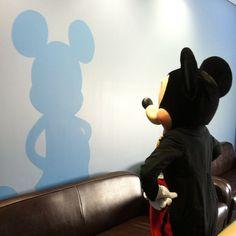 Mickey & his Shadow