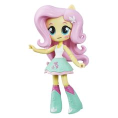 Buy My Little Pony: Fluttershy Doll at Mighty Ape NZ. This My Little Pony Equestria Girls Minis Fluttershy doll is fun to pose! Pretend to express the personality of Fluttershy with this cute mini-doll w. My Little Pony Dolls, All My Little Pony, My Little Pony Friendship, Friendship Games, Equestria Girls Minis, My Little Pony Equestria, Games To Play With Kids, Games For Girls, Toys For Girls