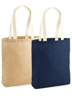 Sacoșă din iută nelaminată (biodegradabilă), dimensiuni 39,5 x 42 x 6 cm, cu mânere lungi. Servicii personalizare: #broderie, #serigrafie Tote Bag, Bags, Embroidery, Handbags, Totes, Bag, Tote Bags, Hand Bags