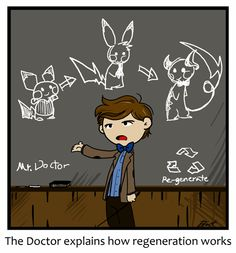 BAHAHA!!  Pokemon and the Doctor....  -- The Doctor explains stuff by caycowa on deviantART