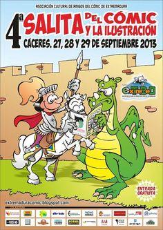 4ª Salita del Cómic y la Ilustración de Extremadura