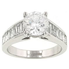 Channel Set CrissCut Baguette Diamond Engagement Ring Diamond 1.51cttw G/si1 (center Stone Not Included)