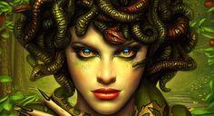 Hora de jogar como a mais famosa das Górgonas <3 Curte RPG? O que acha de jogar como Medusa? #DeD