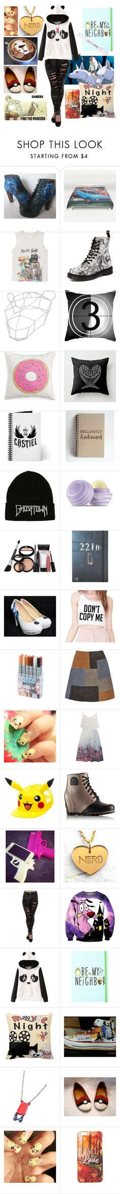 """0266"" by doglover43 ❤ liked on Polyvore featuring Valfré, Dr. Martens, Bijules, Dot & Bo, Keeco, Journal Standard, Hot Topic, Urban Decay, Eos and Laura Geller"