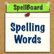 SpellBoard Spelling Practice (Gr 1-3)