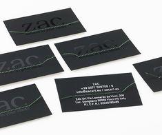 #TheTube #Favini #business cards Zac / Design: Ovostudio www.ovostudio.it