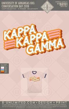 Kappa Kappa Gamma rush #BUonYOU #greek #greektshirts #greekshirts #KKG #PR #retro #ringer Sorority Pr, Sorority Shirt Designs, Sorority Names, Sorority Outfits, Sorority Shirts, Phi Mu Shirts, Fraternity Shirts, Sorority And Fraternity, Tri Delta