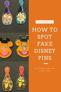 Pin trading is one of our favorite past times at the parks. Sadly, there are many fake Disney pins in the parks now a days. In this article we'll walk you through how to spot fake Disney pins! Disney Secrets, Disney World Tips And Tricks, Disney Tips, Disney Fun, Disney Magic, Disney Stuff, Disney Parks, Disney Cruise, Disney Pin Trading