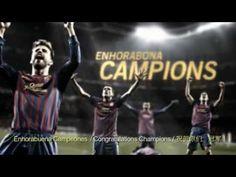 FC Barcelona - Campions Copa Rei 2012