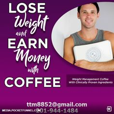Weight management coffee with clinically proven ingredients! Best Weight Loss, Healthy Weight Loss, Lose Weight, Health And Wellness, Health Fitness, Coffee Games, Get Lean, Coffee Club, Coffee And Books
