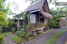 Javanese traditional barn house in Kuta