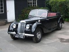 Riley RMD Drophead  (1950) Maintenance/restoration of old/vintage vehicles: the material for new cogs/casters/gears/pads could be cast polyamide which I (Cast polyamide) can produce. My contact: tatjana.alic@windowslive.com