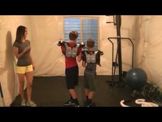 Kid Football Workout! A Great Way to get Conditioned for Football Kids!