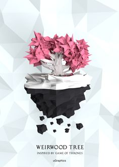 Game Of Thrones -Low poly Weirwood Tree on Behance