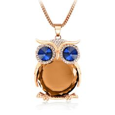 Luxurious Limited Edition Owl Necklace