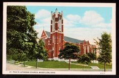 St Paul's Lutheran Church, Massillon, Ohio