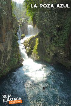 La Poza azul en Tamasopo es uno de los destinos más emblemáticos de la #HuastecaPotosina   #WeLoveAdventure Www.rutahuasteca.com  01.800.543.7746 WhatsApp: 481.116.5900 email: info@rutahuasteca.com #RutaHuasteca #SLP #Ecoturismo #TurismoDeNaturaleza #VisitMexico #Tours #TodoIncluido