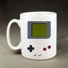 DIGITAL GAMEBOY COFFEE 11 oz Ceramic Mug NINTENDO Game Boy NES Tetris #Handmade
