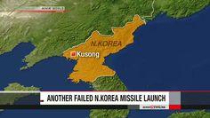 Coreia do Norte falha, novamente, em lançamento de míssil. Militares norte-americanos dizem que a Coreia do Norte tentaram o lançamento de um míssil...