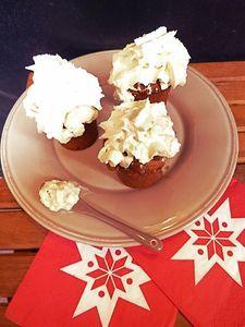 Muffins cœur de châtaigne