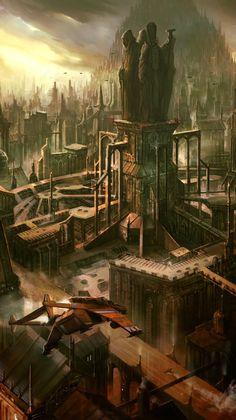 Warhammer 40k Imperial shrine world