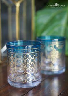 DIY Stunning Moroccan-Style Glasses