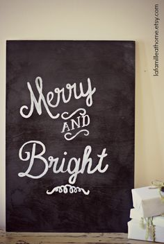 I can make this... Have the fonts and a chalkboard background!