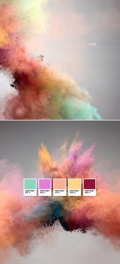 Explosion of color.