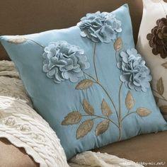 Декоративные подушки. Идеи.