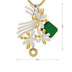 Pretty Pet Diamond Gold Pendant - Charu Jewels Pendant Set, Diamond Pendant, Gold Pendant, Diamond Jewelry, Gold Designs, Trendy Jewelry, Bracelets For Men, Jewelry Stores, September