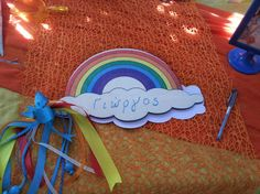 Google+ Over The Rainbow, Rainbow Colors, Favors, Colours, Birthday, Cake, Party, Crafts, Diy