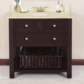 """Found it at Wayfair - Camber 36"""" Vanity Set with Backsplash and Single Sink"""