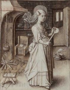 PATRON OF COOKS / DIETICIANS / HOTEL KEEPERS / SERVANTS - ST MARTHA -  Sister of Mary of Bethany and Lazarus