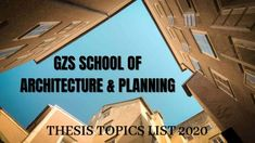 Giani Zail Singh School of Architecture & Planning, GZS Architecture Bathinda #gzzccet #mrsptu #gzssap #Bathinda, #Architecture #Thesis-Topics #Architectural #Thesis #topics #ArchitecturalThesis #thesisarchitecture #thesistopics #topicsforarchitecture #ideas