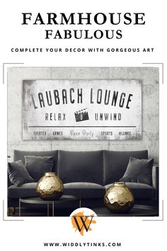 Personalize your comfort zone with this family lou Wall Decor Design, Unique Wall Decor, Wall Art Decor, Industrial Signs, Industrial Farmhouse, Farmhouse Decor, Neutral Color Scheme, Color Schemes, Custom Canvas Prints