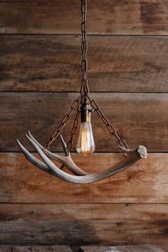 The Durango Chandelier Antler Pendant Light Rustic Chain