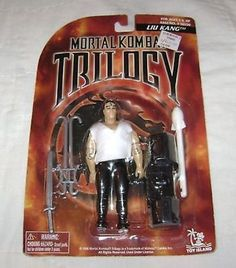 MORTAL KOMBAT TRILOGY ACTION FIGURE LIU KANG MOC NEW
