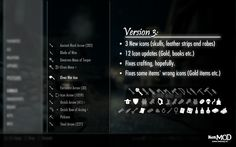 KenMOD - Item icons at Skyrim Nexus - Skyrim mods and community