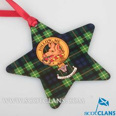 Campbell of Breadalbane Clan Crest Christmas Ornament