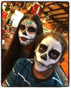 From Today, Monday October 31st until Wednesday, November 2nd Face Painting by Karitas will be after the 2nd big show: 7PM!  #DayoftheDead #visitrichmond #loveVA #rvadine #rva