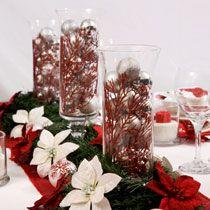 Bulk Christmas Craft Idea: Christmas Centerpiece